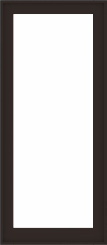 WDMA 32x72 (31.5 x 71.5 inch) Composite Wood Aluminum-Clad Picture Window without Grids-6