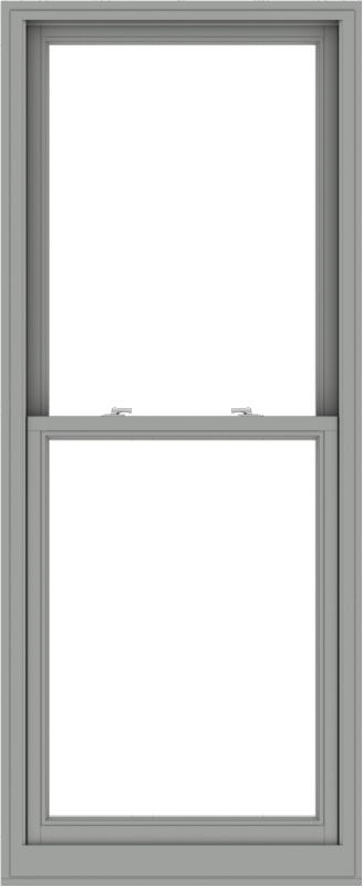 WDMA 32x78 (31.5 x 77.5 inch)  Aluminum Single Double Hung Window without Grids-1