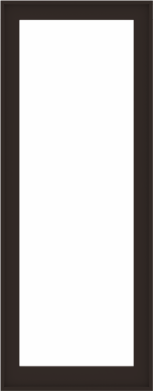 WDMA 32x80 (31.5 x 79.5 inch) Composite Wood Aluminum-Clad Picture Window without Grids-6