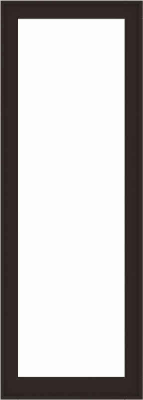 WDMA 32x88 (31.5 x 87.5 inch) Composite Wood Aluminum-Clad Picture Window without Grids-6