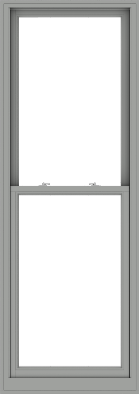 WDMA 32x90 (31.5 x 89.5 inch)  Aluminum Single Double Hung Window without Grids-1
