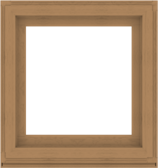 WDMA 34x36 (33.5 x 35.5 inch) Composite Wood Aluminum-Clad Picture Window without Grids-1