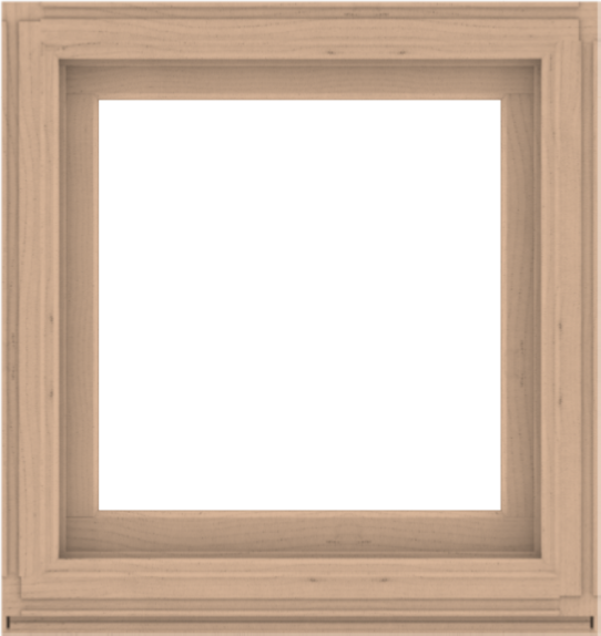 WDMA 34x36 (33.5 x 35.5 inch) Composite Wood Aluminum-Clad Picture Window without Grids-2