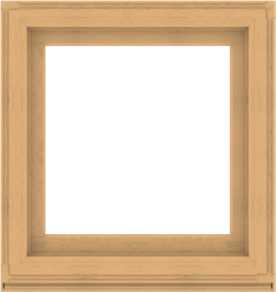 WDMA 34x36 (33.5 x 35.5 inch) Composite Wood Aluminum-Clad Picture Window without Grids-3