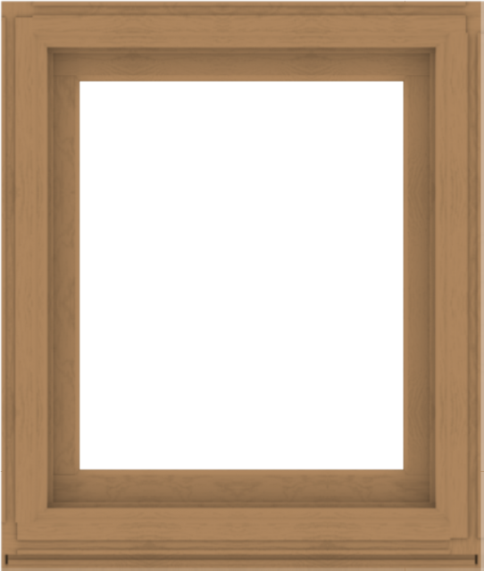 WDMA 34x40 (33.5 x 39.5 inch) Composite Wood Aluminum-Clad Picture Window without Grids-1