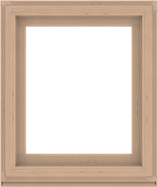 WDMA 34x40 (33.5 x 39.5 inch) Composite Wood Aluminum-Clad Picture Window without Grids-2