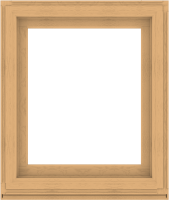 WDMA 34x40 (33.5 x 39.5 inch) Composite Wood Aluminum-Clad Picture Window without Grids-3
