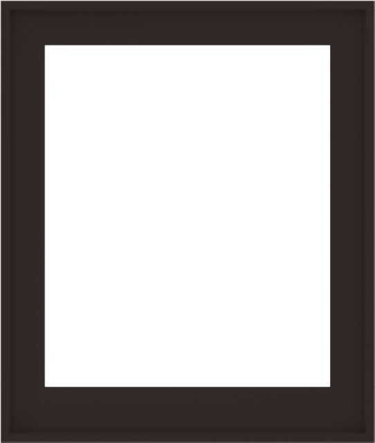 WDMA 34x40 (33.5 x 39.5 inch) Composite Wood Aluminum-Clad Picture Window without Grids-6