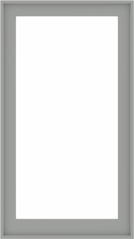 WDMA 34x60 (33.5 x 59.5 inch) Composite Wood Aluminum-Clad Picture Window without Grids-5