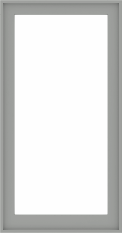 WDMA 34x64 (33.5 x 63.5 inch) Composite Wood Aluminum-Clad Picture Window without Grids-5