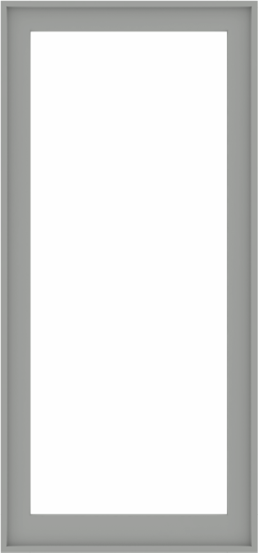 WDMA 34x72 (33.5 x 71.5 inch) Composite Wood Aluminum-Clad Picture Window without Grids-5