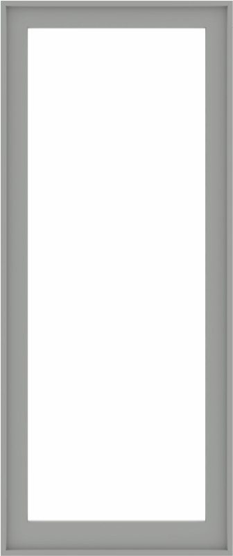 WDMA 34x80 (33.5 x 79.5 inch) Composite Wood Aluminum-Clad Picture Window without Grids-5