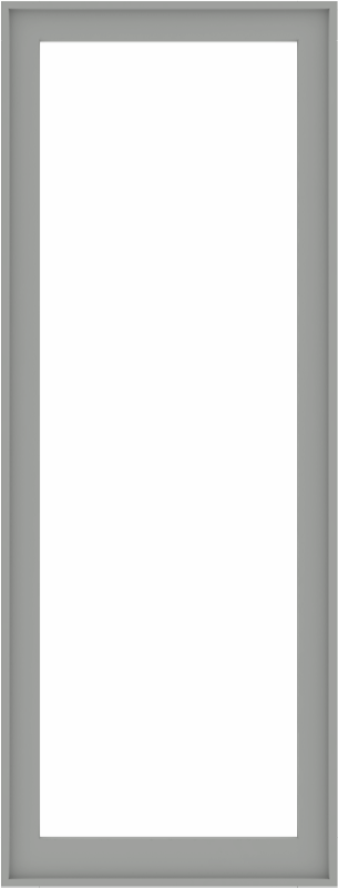WDMA 34x88 (33.5 x 87.5 inch) Composite Wood Aluminum-Clad Picture Window without Grids-5