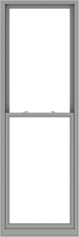 WDMA 36x108 (35.5 x 107.5 inch)  Aluminum Single Double Hung Window without Grids-1