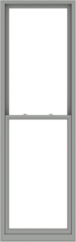 WDMA 36x114 (35.5 x 113.5 inch)  Aluminum Single Double Hung Window without Grids-1