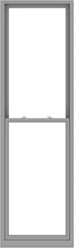 WDMA 36x120 (35.5 x 119.5 inch)  Aluminum Single Double Hung Window without Grids-1