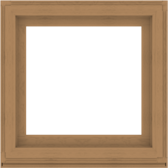 WDMA 36x36 (35.5 x 35.5 inch) Composite Wood Aluminum-Clad Picture Window without Grids-1