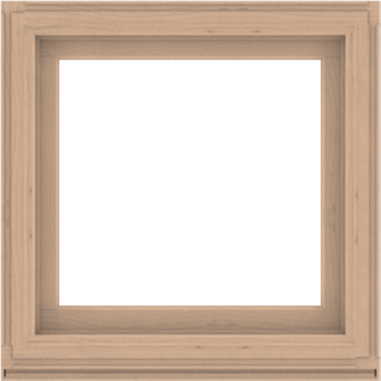 WDMA 36x36 (35.5 x 35.5 inch) Composite Wood Aluminum-Clad Picture Window without Grids-2