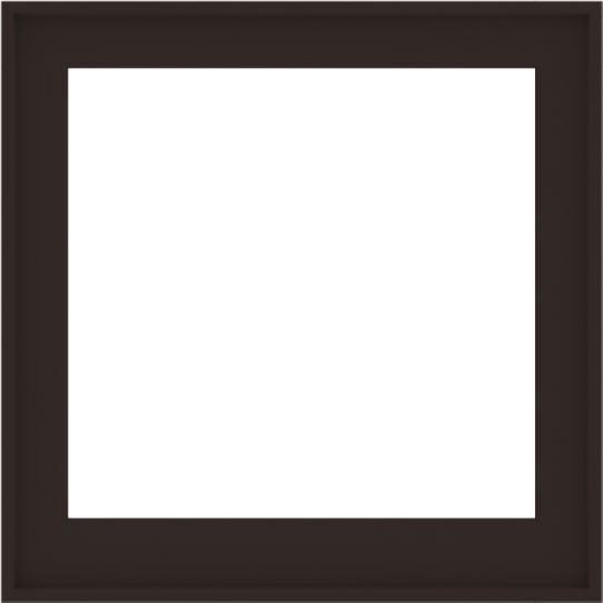 WDMA 36x36 (35.5 x 35.5 inch) Composite Wood Aluminum-Clad Picture Window without Grids-6