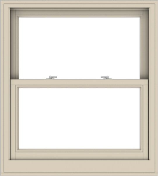 WDMA 36x40 (35.5 x 39.5 inch)  Aluminum Single Hung Double Hung Window without Grids-2