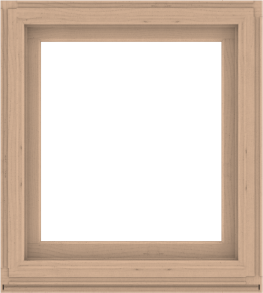 WDMA 36x40 (35.5 x 39.5 inch) Composite Wood Aluminum-Clad Picture Window without Grids-2