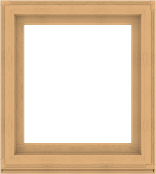 WDMA 36x40 (35.5 x 39.5 inch) Composite Wood Aluminum-Clad Picture Window without Grids-3