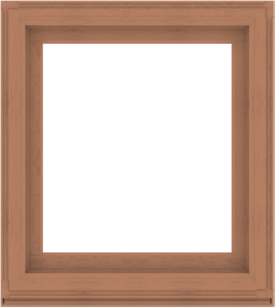 WDMA 36x40 (35.5 x 39.5 inch) Composite Wood Aluminum-Clad Picture Window without Grids-4