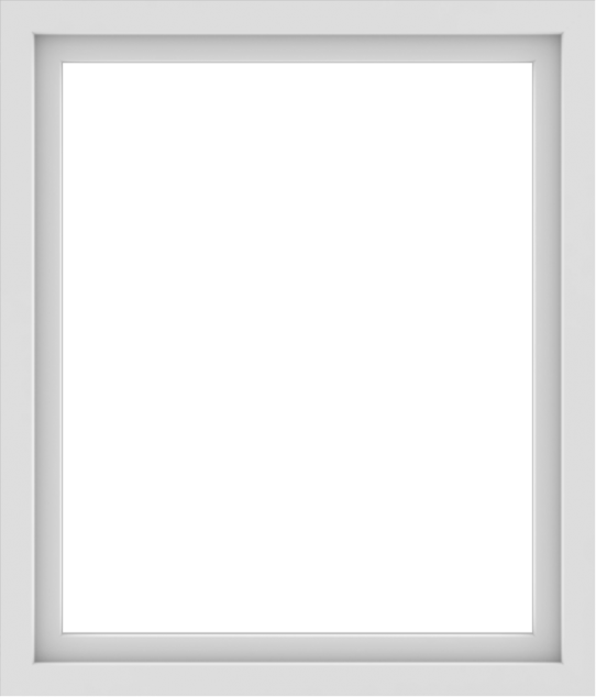 WDMA 36x42 (35.5 x 41.5 inch) Vinyl uPVC White Picture Window without Grids-1