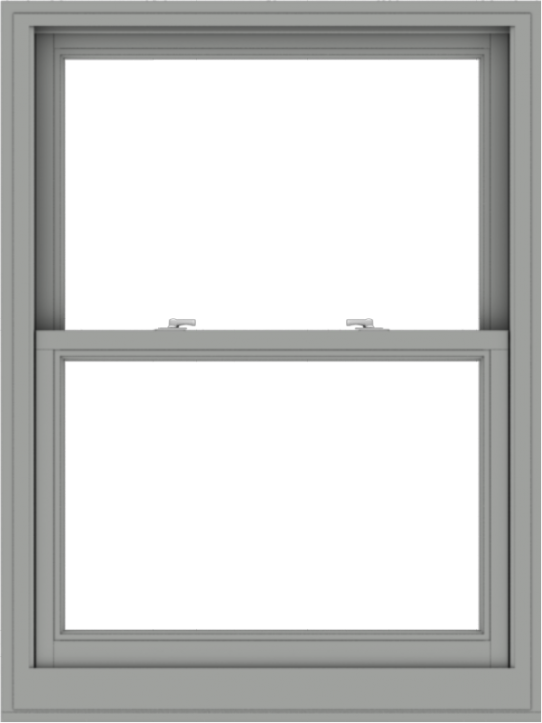 WDMA 36x48 (35.5 x 47.5 inch)  Aluminum Single Double Hung Window without Grids-1