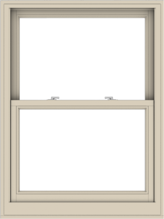 WDMA 36x48 (35.5 x 47.5 inch)  Aluminum Single Hung Double Hung Window without Grids-2