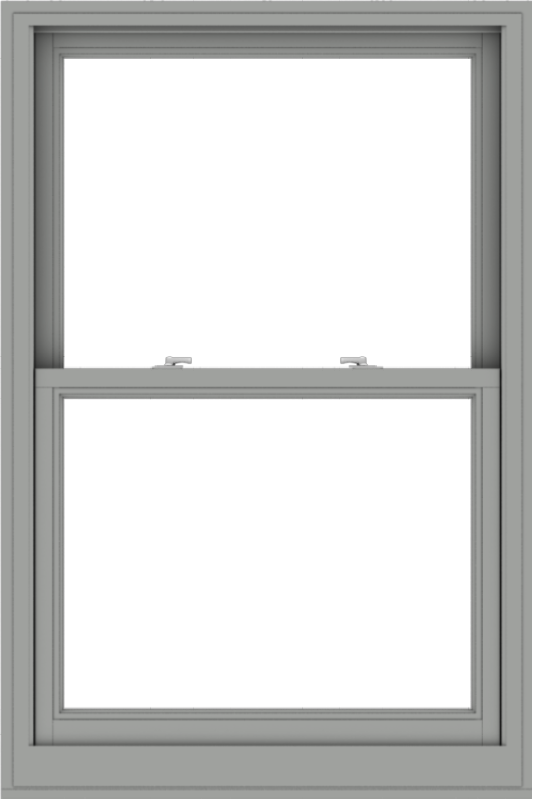 WDMA 36x54 (35.5 x 53.5 inch)  Aluminum Single Double Hung Window without Grids-1