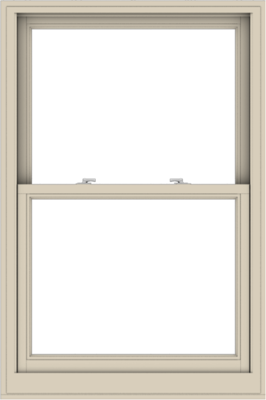 WDMA 36x54 (35.5 x 53.5 inch)  Aluminum Single Hung Double Hung Window without Grids-2