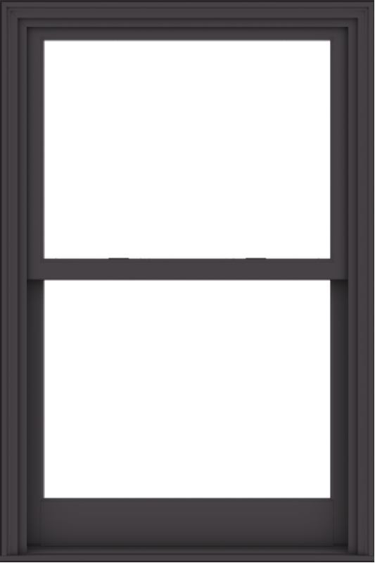 WDMA 36x54 (35.5 x 53.5 inch)  Aluminum Single Hung Double Hung Window without Grids-3