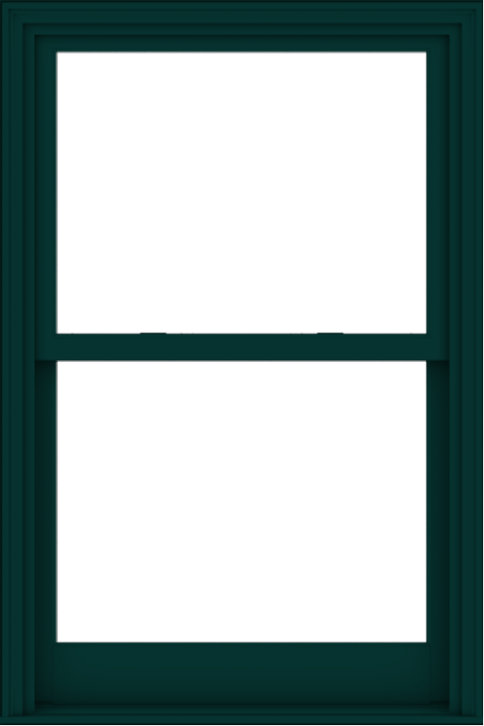 WDMA 36x54 (35.5 x 53.5 inch)  Aluminum Single Hung Double Hung Window without Grids-5