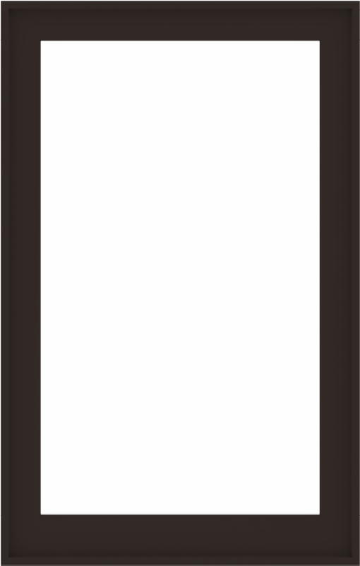 WDMA 36x56 (35.5 x 55.5 inch) Composite Wood Aluminum-Clad Picture Window without Grids-6
