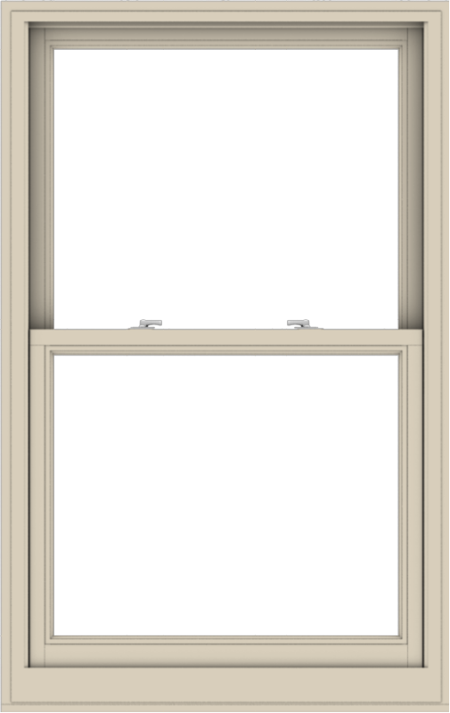 WDMA 36x57 (35.5 x 56.5 inch)  Aluminum Single Hung Double Hung Window without Grids-2