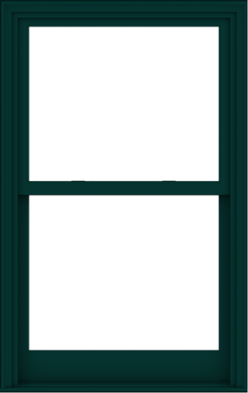 WDMA 36x57 (35.5 x 56.5 inch)  Aluminum Single Hung Double Hung Window without Grids-5