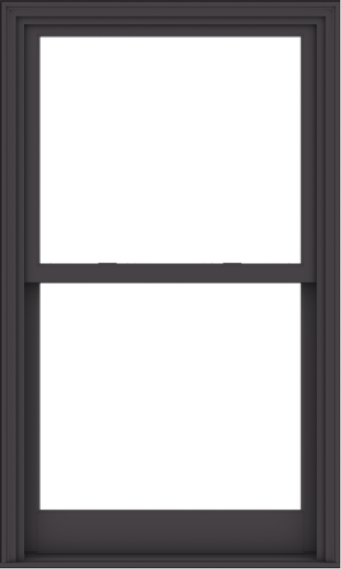 WDMA 36x60 (35.5 x 59.5 inch)  Aluminum Single Hung Double Hung Window without Grids-3
