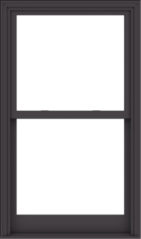 WDMA 36x61 (35.5 x 60.5 inch)  Aluminum Single Hung Double Hung Window without Grids-3