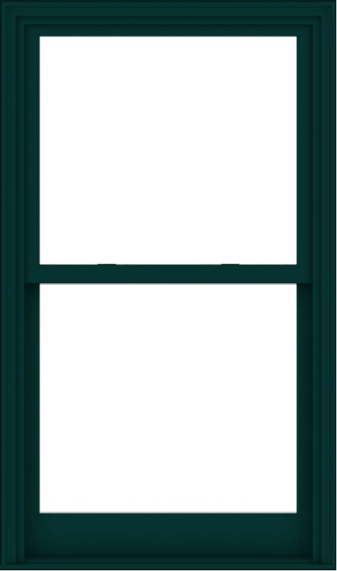 WDMA 36x61 (35.5 x 60.5 inch)  Aluminum Single Hung Double Hung Window without Grids-5