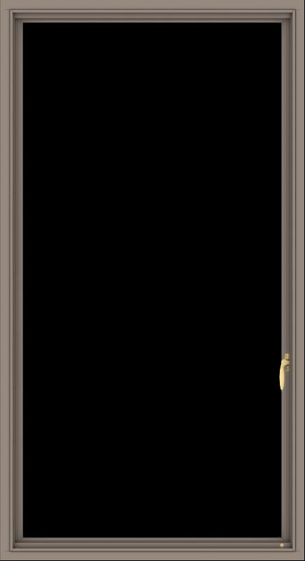 WDMA 36x66 (35.5 x 65.5 inch) Aluminum Frame Grey Brown Bronze Green Blue Push out Casement-1