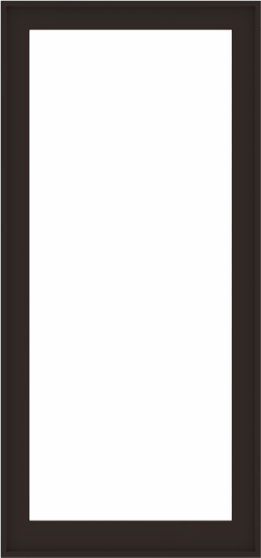 WDMA 36x76 (35.5 x 75.5 inch) Composite Wood Aluminum-Clad Picture Window without Grids-6