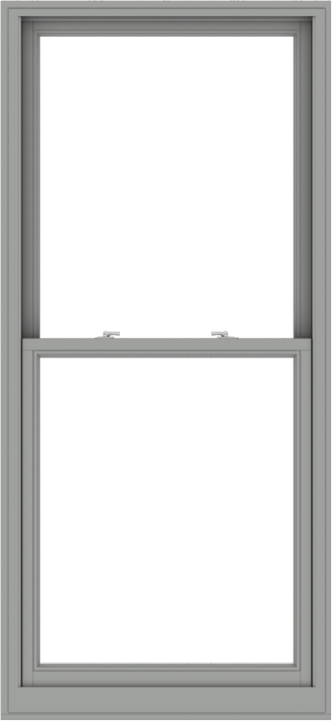 WDMA 36x78 (35.5 x 77.5 inch)  Aluminum Single Double Hung Window without Grids-1
