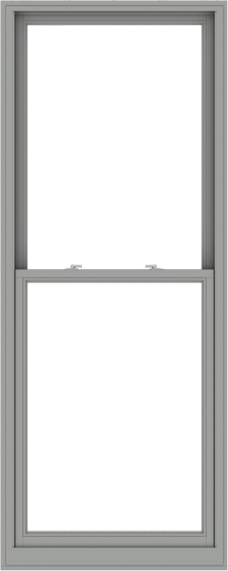 WDMA 36x90 (35.5 x 89.5 inch)  Aluminum Single Double Hung Window without Grids-1