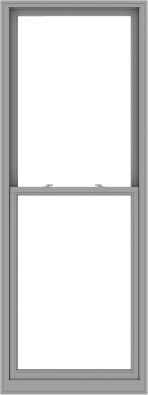 WDMA 36x96 (35.5 x 95.5 inch)  Aluminum Single Double Hung Window without Grids-1