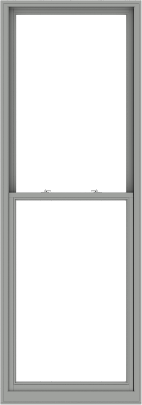 WDMA 38x108 (37.5 x 107.5 inch)  Aluminum Single Double Hung Window without Grids-1