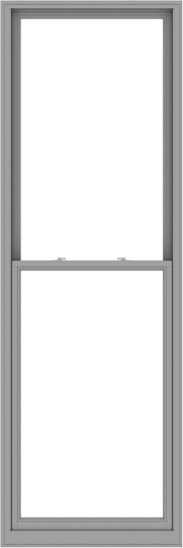 WDMA 38x114 (37.5 x 113.5 inch)  Aluminum Single Double Hung Window without Grids-1