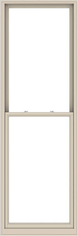 WDMA 38x114 (37.5 x 113.5 inch)  Aluminum Single Hung Double Hung Window without Grids-2
