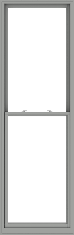 WDMA 38x120 (37.5 x 119.5 inch)  Aluminum Single Double Hung Window without Grids-1