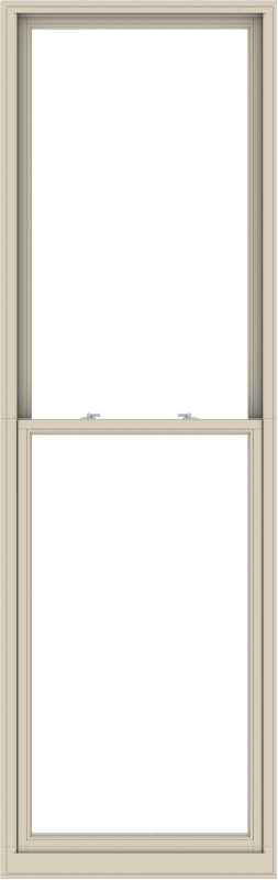 WDMA 38x120 (37.5 x 119.5 inch)  Aluminum Single Hung Double Hung Window without Grids-2